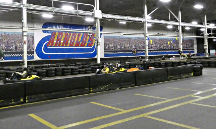 Go-Karts at Arnold's Family Fun Center