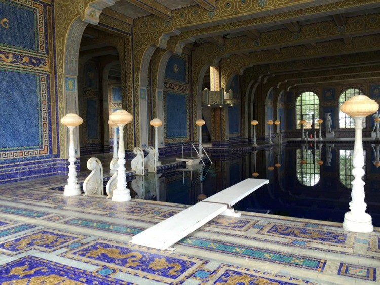 Things to do on the Central Coast of California: Visit Hearst Castle.