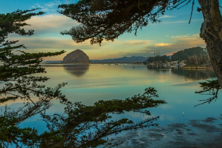 Things to do on the Central Coast of California: See Morro Bay at dawn.