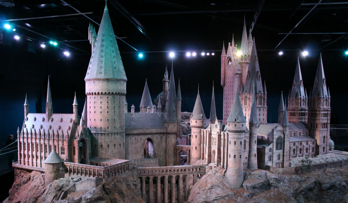The replica of Hogwarts is one of the highlights of the Harry Potter Studios Tour in London