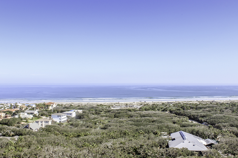 The view from the lighthouse in Ponce Inlet, 1 of 7 Best Family Friendly Things to do in Daytona Beach