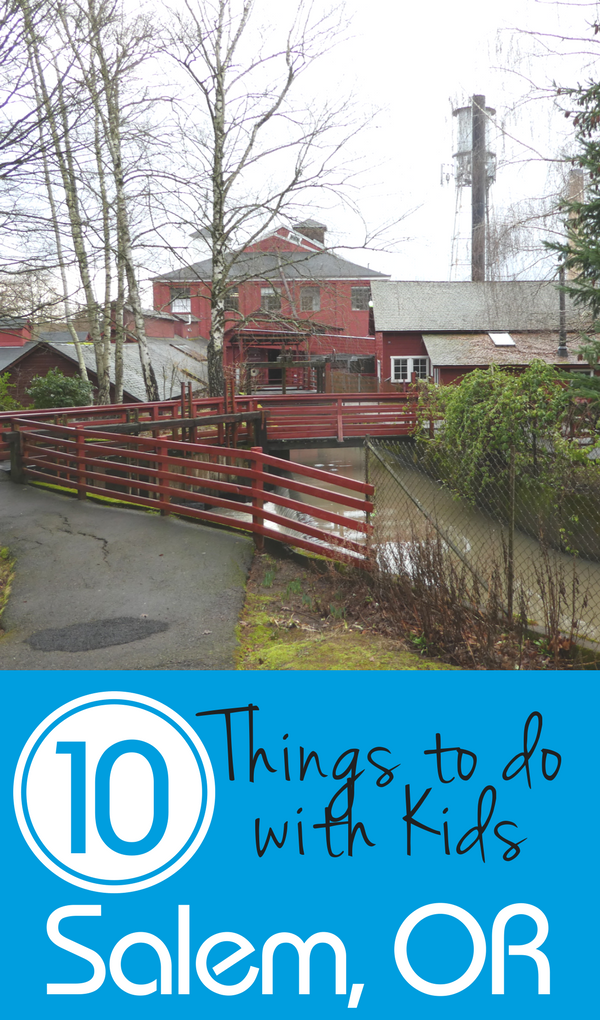 A list of 10 fun things to do in Salem, Oregon with kids for your trip. Plus, restaurant recommendations and a suggested hotel.