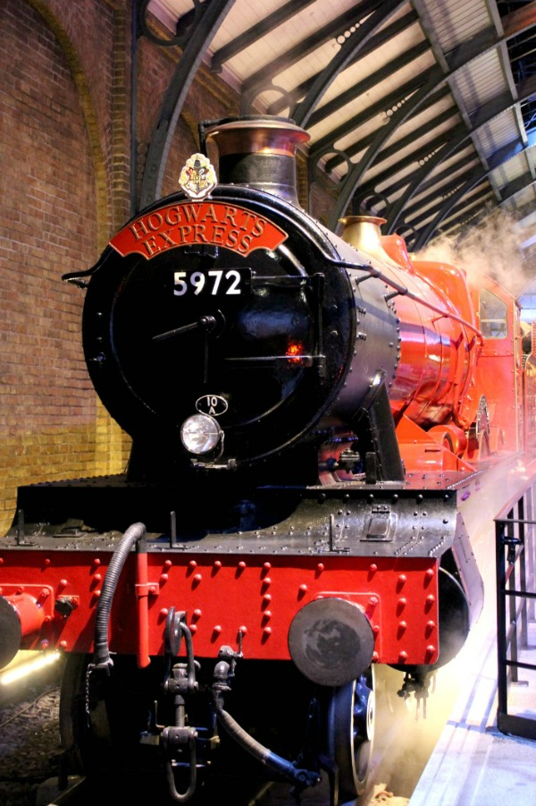 You'll see the Hogwarts Express at Harry Potter Studios Tour in London
