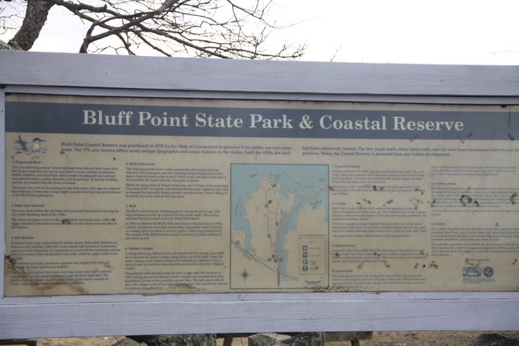 Take a CT family hike to Bluff Point State Park in Groton, Connecticut.