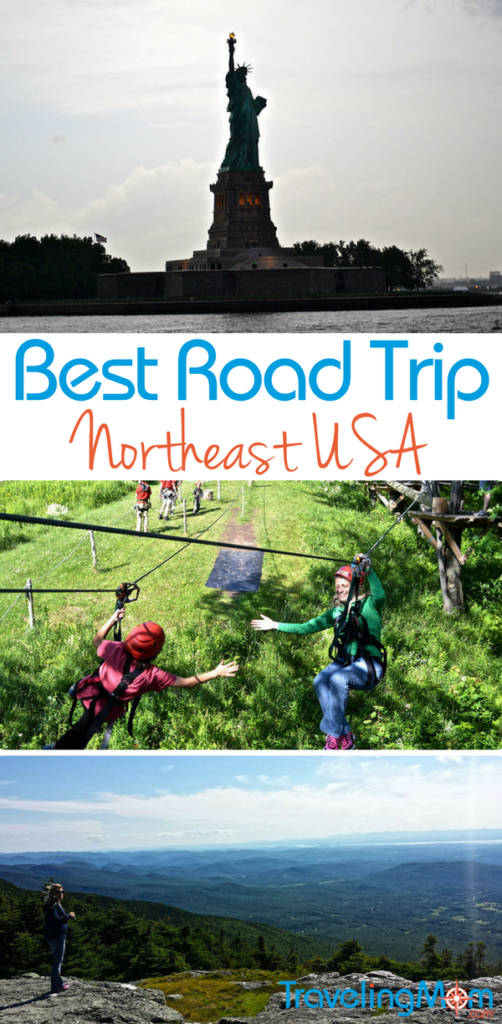 Up close and personal - that's how you'll experience the area on a Northeast USA Road Trip. Read on for an itinerary and great road trip ideas.