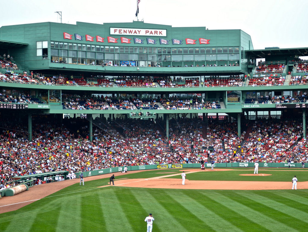Fenway! One of the best stops on our Northeast US road trip.