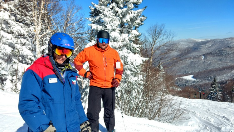 Adult ski lessons at Smugg's one of 7 things to do at Smuggler's Notch in winter