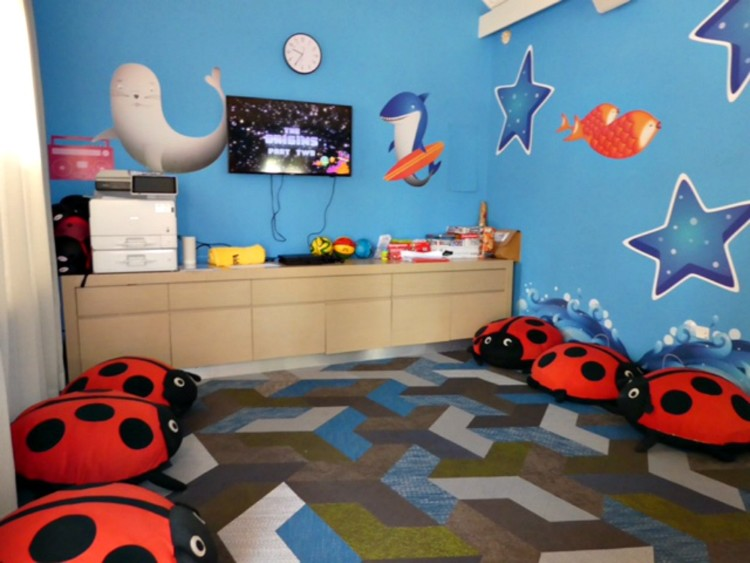 melia braco village kids' activity room
