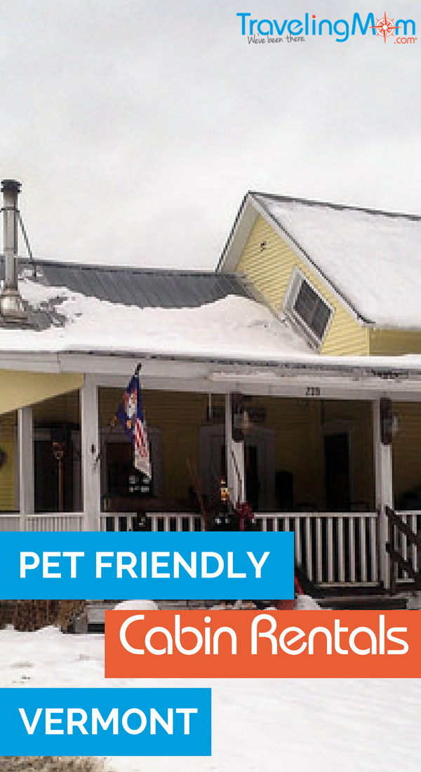 pet friendly cabin rentals in ermont USA