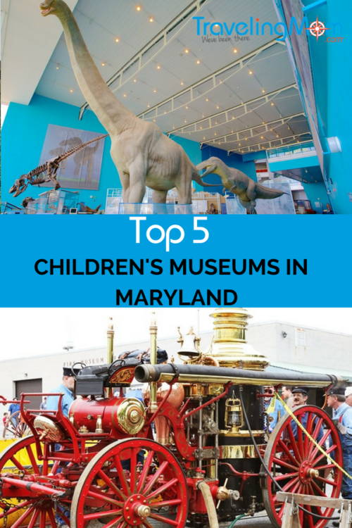 Explore the Top Five Children's Museums in Maryland this Spring. From airplanes to maritime fun there is something for every child.