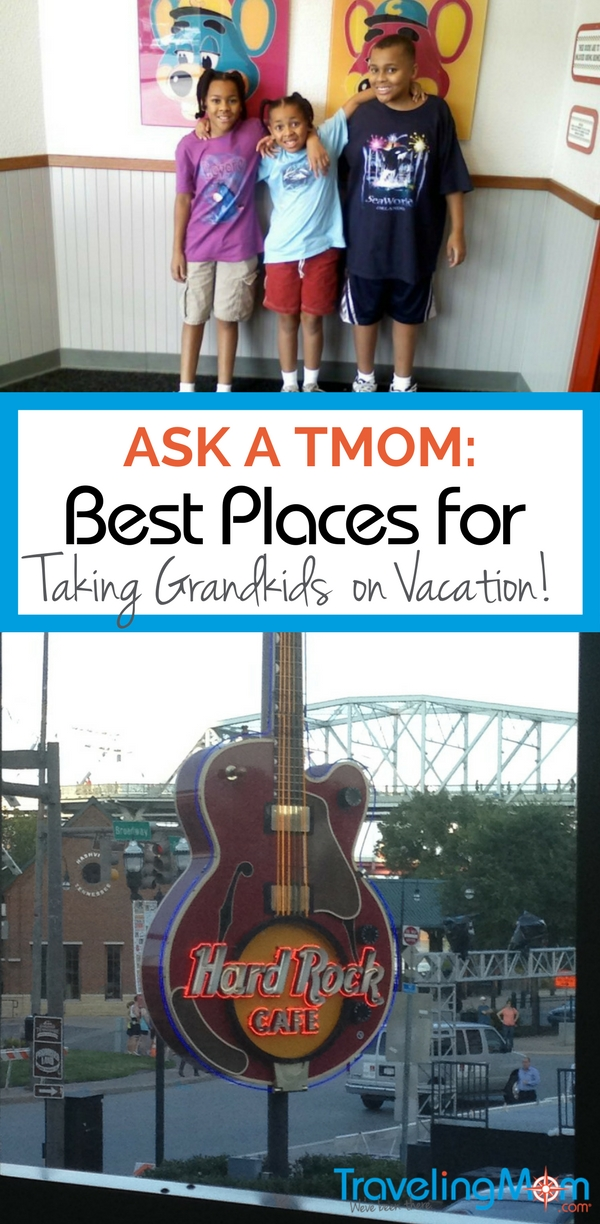 Where are some of the best places for taking grandkids on vacation for fun & learning? Our TMOMs share their best destinations across the USA!
