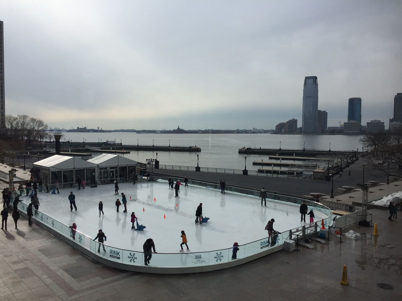 Free in New York City: view from Brookfield Place