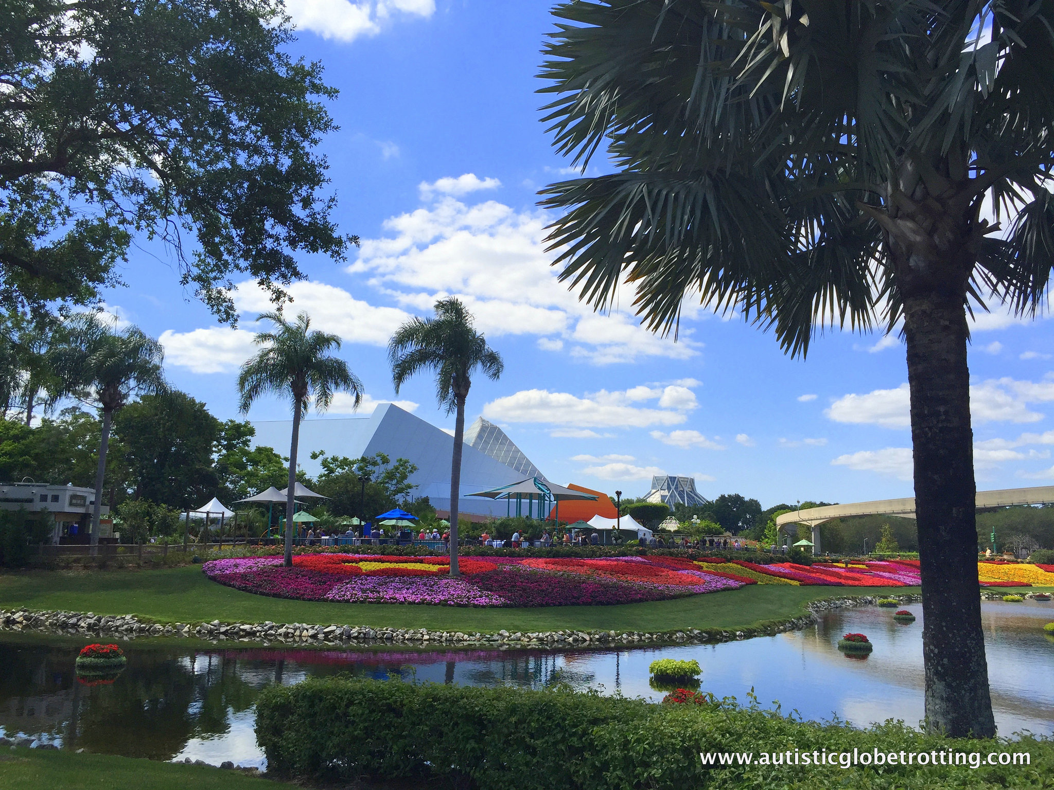 Which Walt Disney World Park is Best for Kids with Autism? garden
