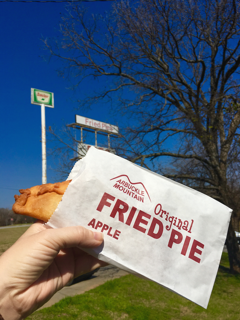 Eat a fried pie at Arbuckle Mountains Fried pies as one of the things to do in Sulphur Oklahoma.