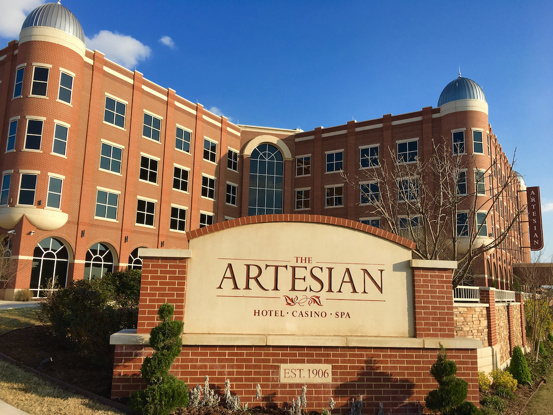 Stay at the Artesian Hotel when you discover things to do in Sulphur Oklahoma.