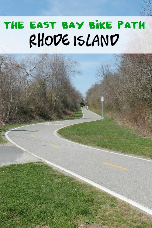 The East Bay Bike Path is a great place for free family fun in Rhode Island.