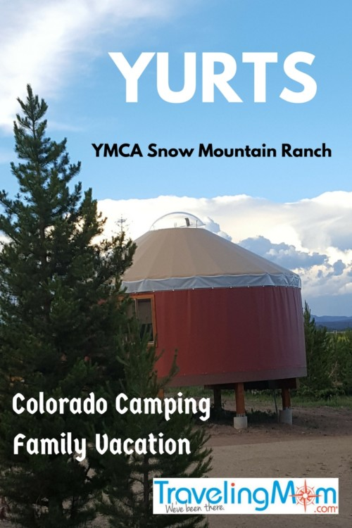 Read why your Colorado camping family vacation just got better with a stay at YMCA Snow Mountain Ranch yurts.