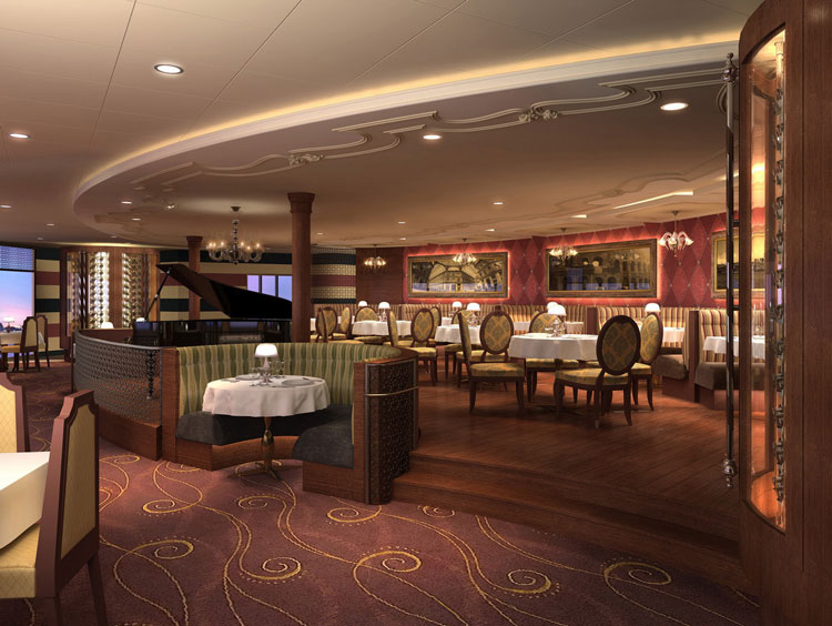 Palo dining room on the Disney Dream