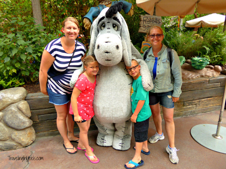 Plan Multigenerational family travel vacation to Disney - Character meet and greets and photo opps