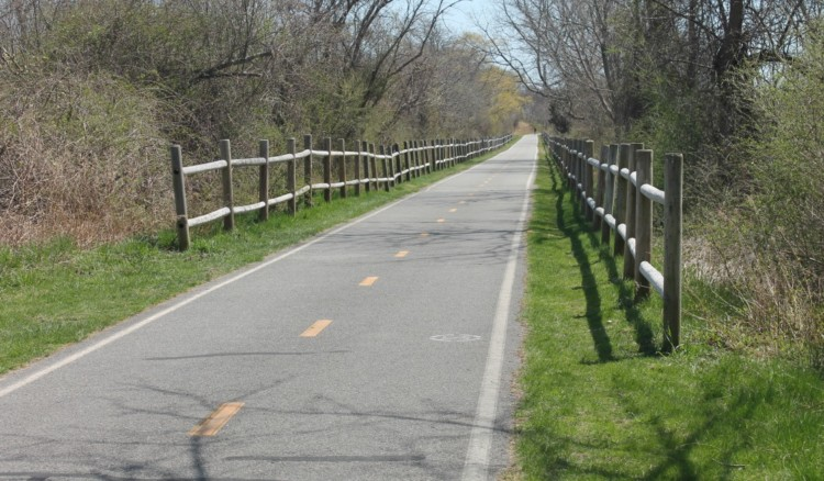 The East Bay Bike Path spans multiple towns and is a wonderful option for some free fun in Rhode Island.