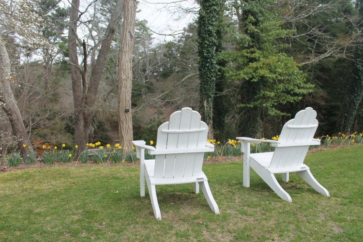 Relax and enjoy the view at the Heritage Museums and Gardens, a lovely Cape Cod attraction.