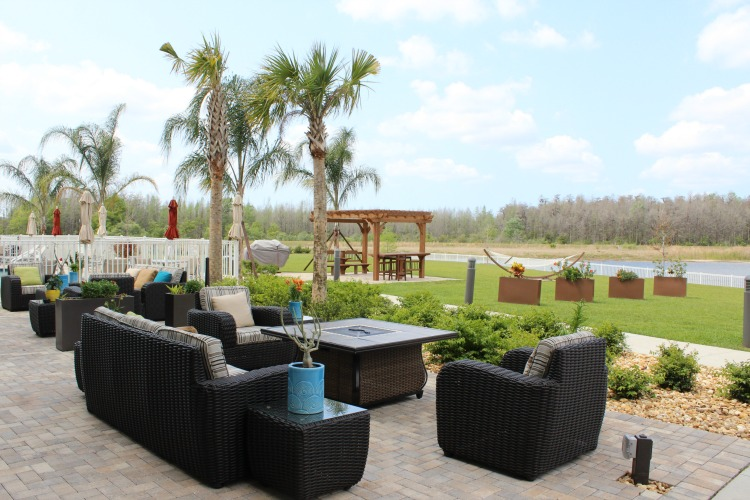Relax overlooking the lake in Pasco County Florida