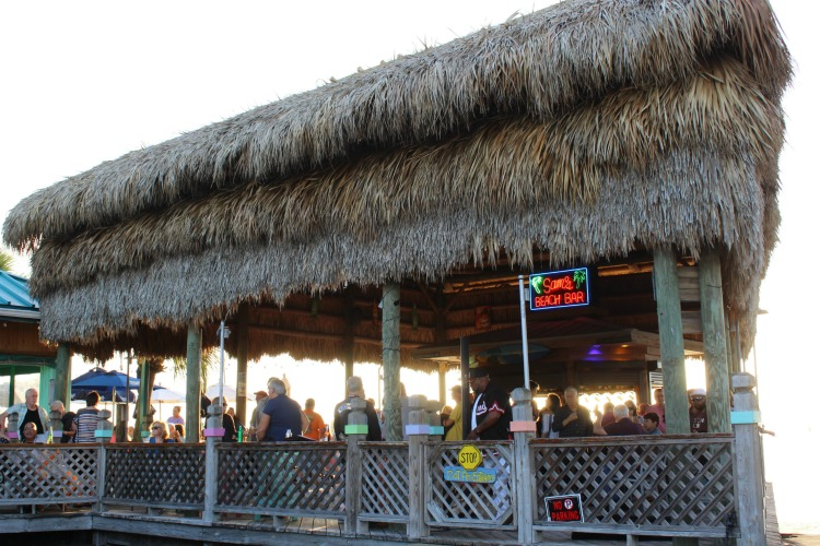 Sam's beach bar in Pasco County Florida