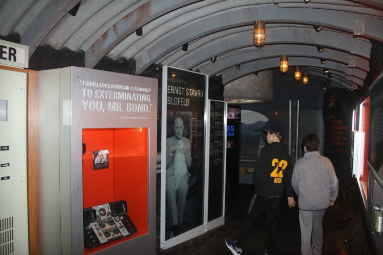 Go behind-the-scenes with the infamous James Bond at the International Spy Museum during a family trip to Washington DC.