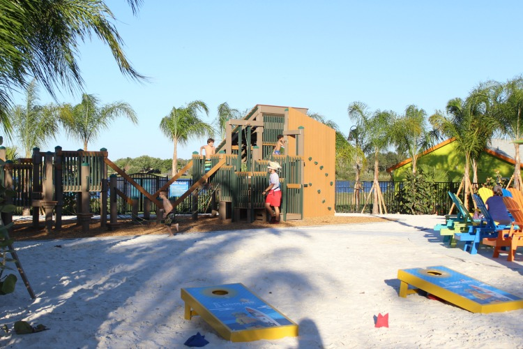 There's a lot to keep the kids entertained at the LEGOLAND Beach Retreat