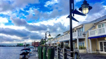 The Riverwalk in Wilmington, North Carolina