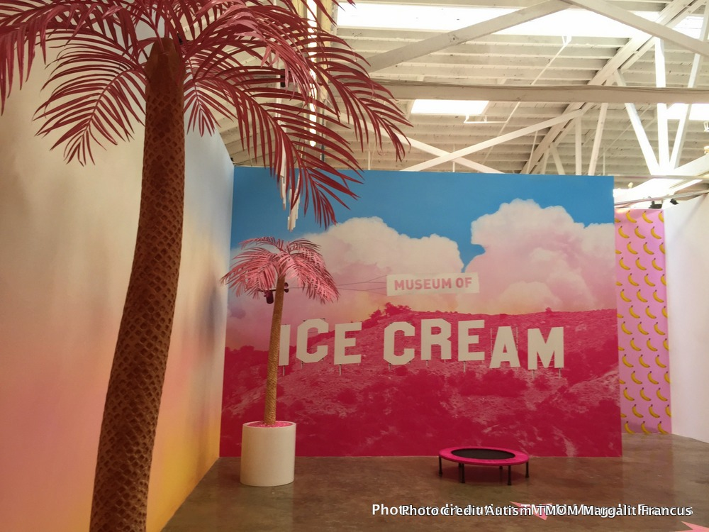 LA's hottest ticket The Museum of Ice Cream poster
