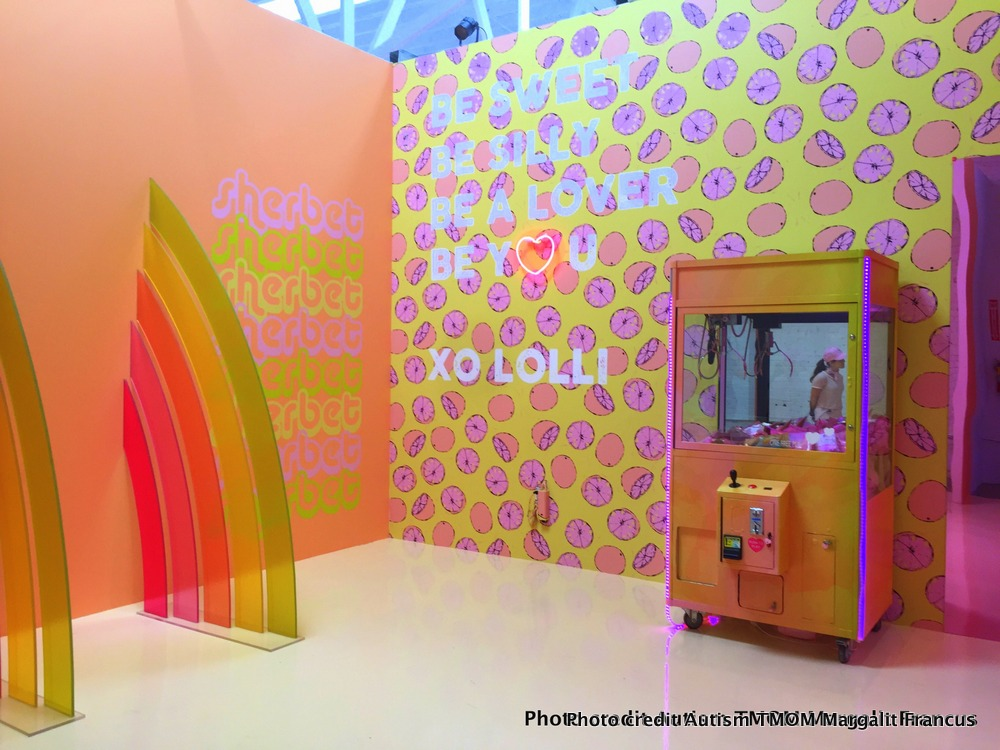 LA's hottest ticket The Museum of Ice Cream sherbet