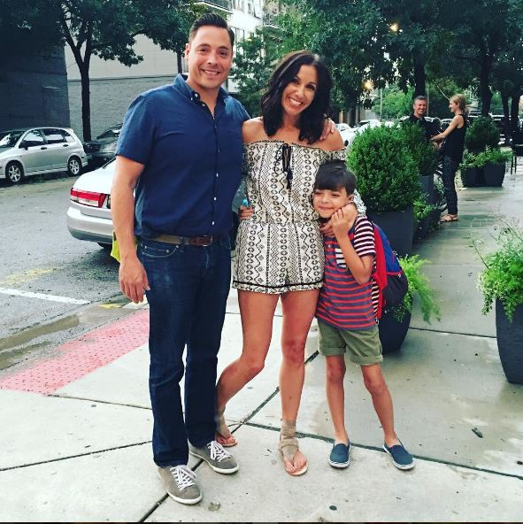 Food Network star Jeff Mauro talks about traveling with his wife and son.