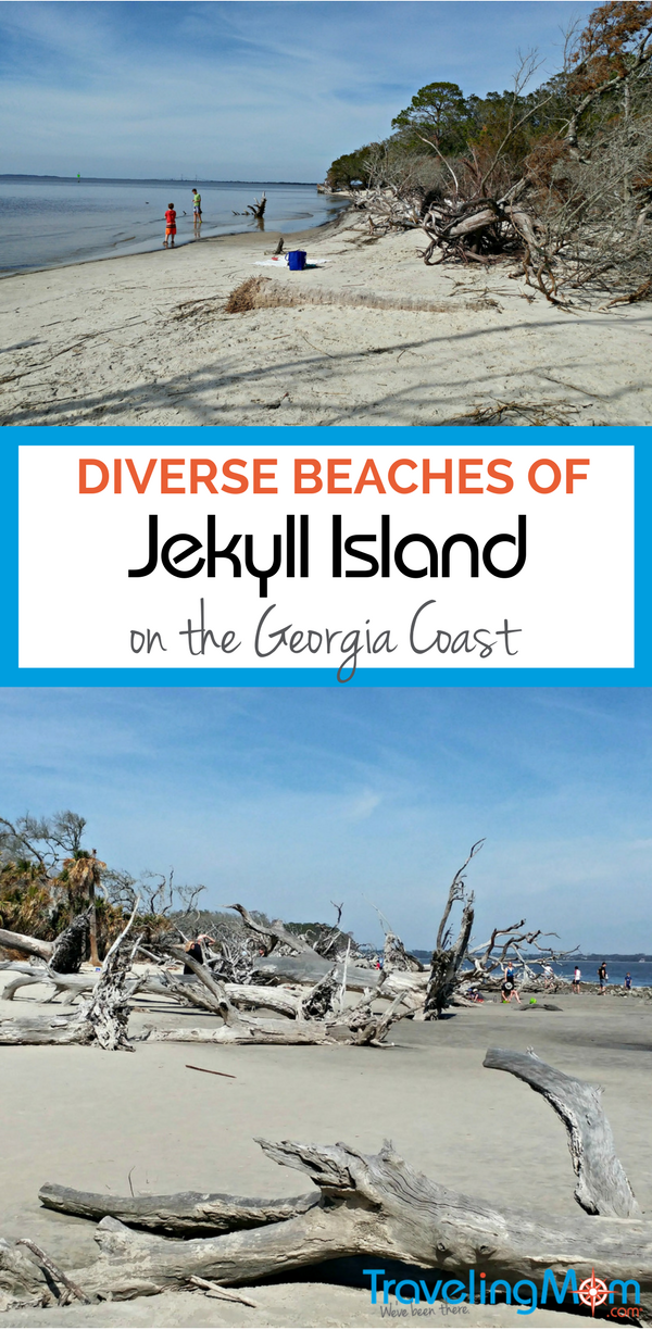The beaches of Georgia's Jekyll Island offers visitors a variety of beach environments. From bird-watching to exploring to old-fashioned family fun, there's a beach for you on Jekyll Island.
