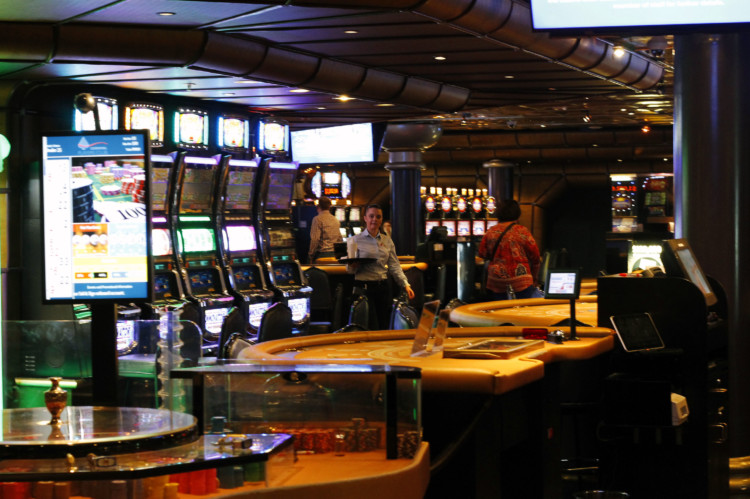 Adults can have fun in the casino or on the Serenity deck on their Carnival cruise vacation.