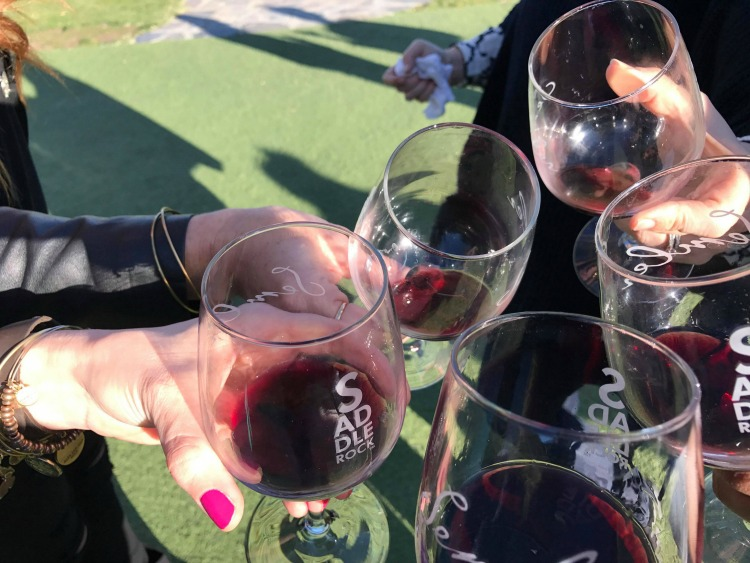 Cheers to a fun, wine-filled girlfriend getaway including Malibu Wine Safaris!