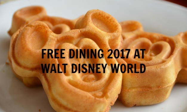 FREE Dining At Disney World Is Back For 2017: Act Fast, These Rooms Won't Last