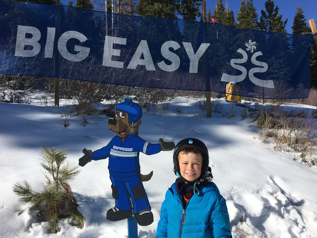 Learn to ski at Northstar with spring skiing at Lake Tahoe with kids.