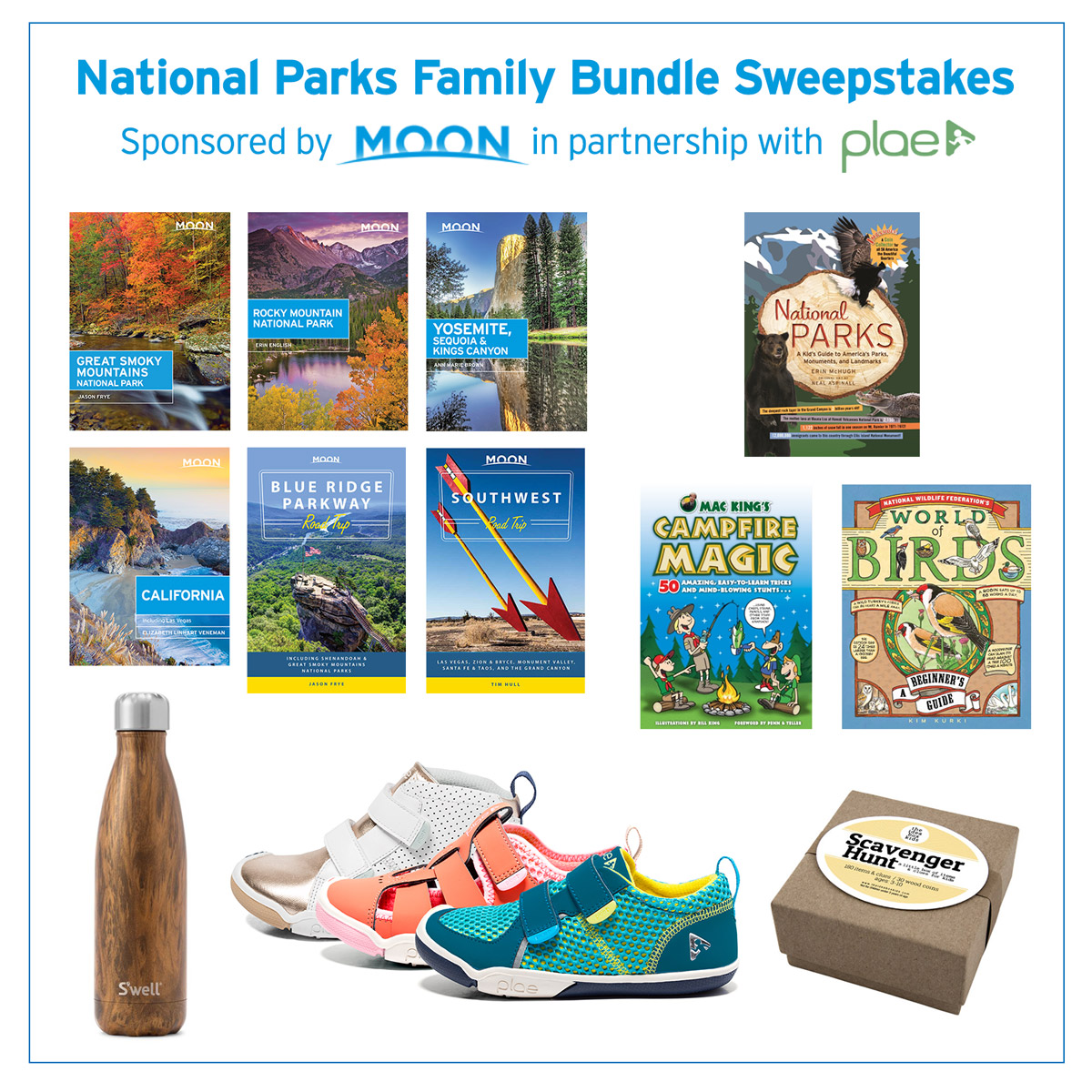 Win a great prize pack on the TravelingMom Moon Travel Guides Twitter Party!