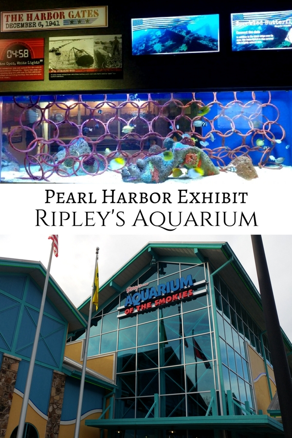 Ripley's Aquarium of the Smokies in Gatlinburg, TN has a large, interactive exhibit on the Pearl Harbor attacks and the environmental effect it had on aquatic sea life. But don't wait--the exhibit closes at the end of 2017!