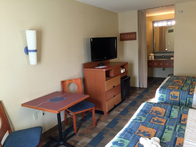 Guest Room at Disney's Pop Century Resort