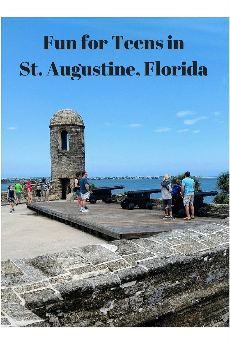 St. Augustine, Florida offers educational and thrilling activities to entertain even the most hard-to-please members of your family – teens and tweens.