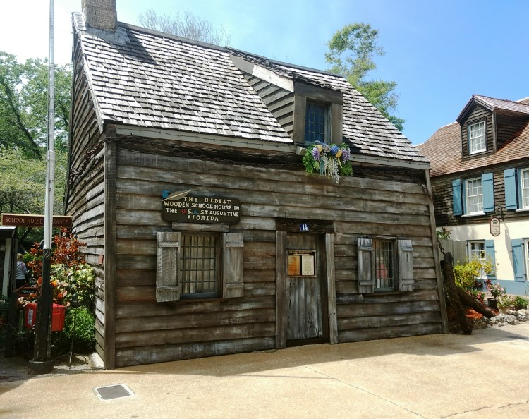 Oldest Wooden School House in St. Augustine, FL - TravelingMom