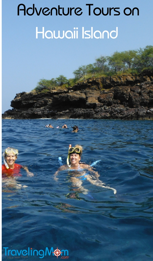 unique adventure tours on Hawaii Island include opportunities to snorkel, stand-up paddle and relax on rafts in one excursion.