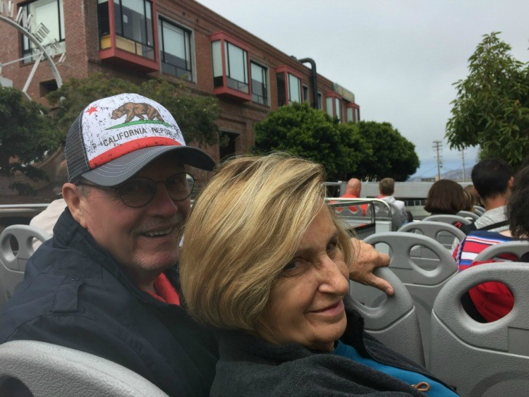 Travel Planning Tips for a Milestone Birthday Celebration include a hop-on-hop-off bus tour
