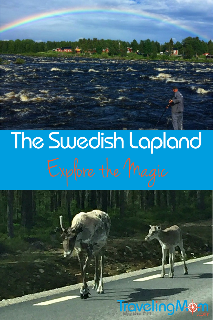 Reindeer traffic jams, fish plucked from pristine rivers and rainbows displayed in the sky are just the start of the magic in exploring the Swedish Lapland.