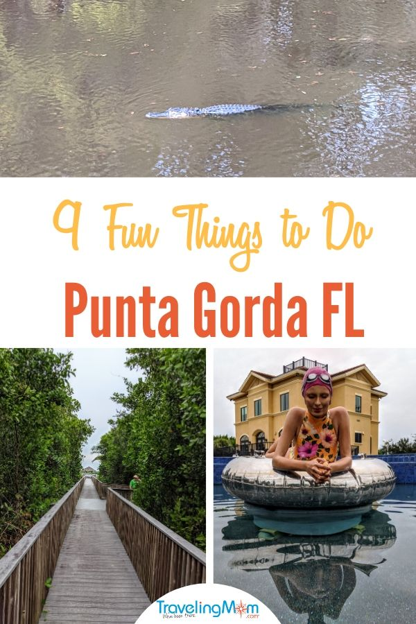 From the beach to Babcock Ranch, here are 9 fun things to do in Punta Gorda and Englewood Beach Florida on a family vacation with kids.