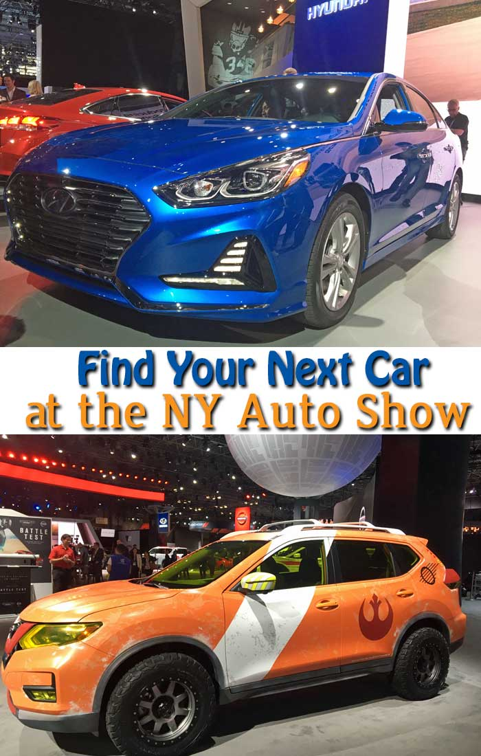 Looking for family fun this week? Head to the New York International Auto Show