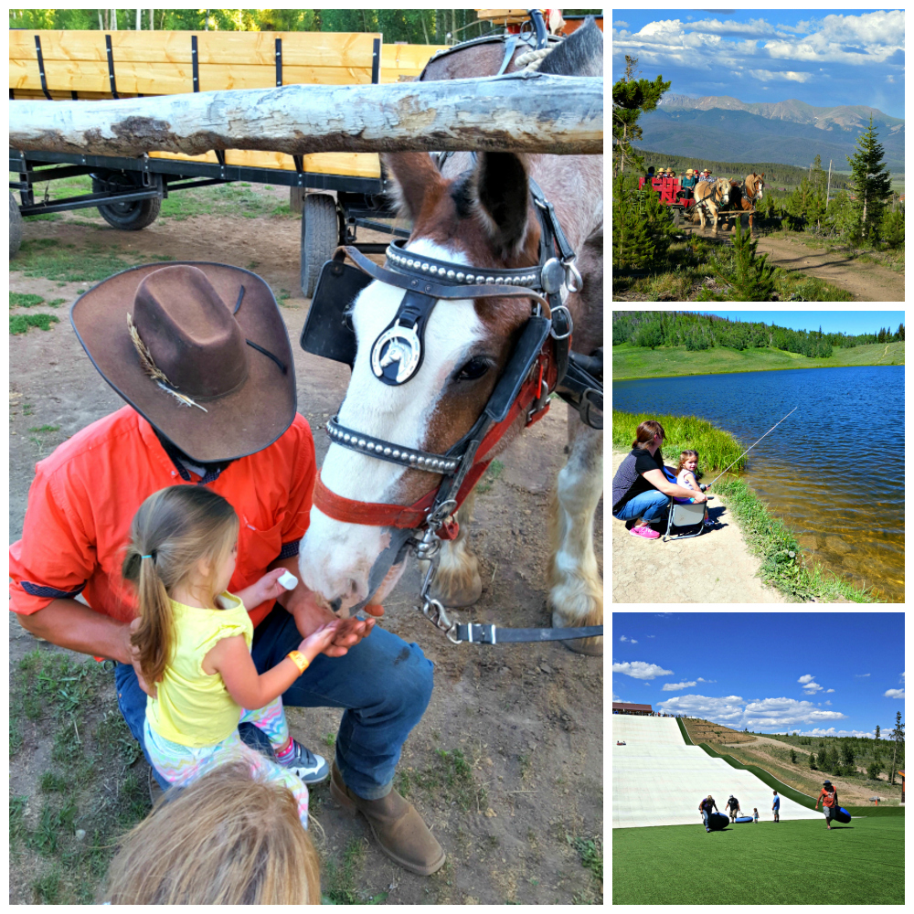 From feeding marshmallows to horses and fishing, so many fun things to do when staying at Colorado's YMCA Snow Mountain Ranch yurts.