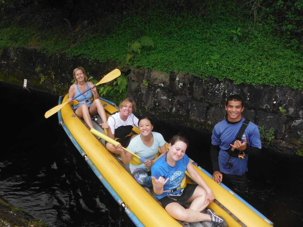 Kayaking through irrigation ditches is among the best unique adventures on hawaii island